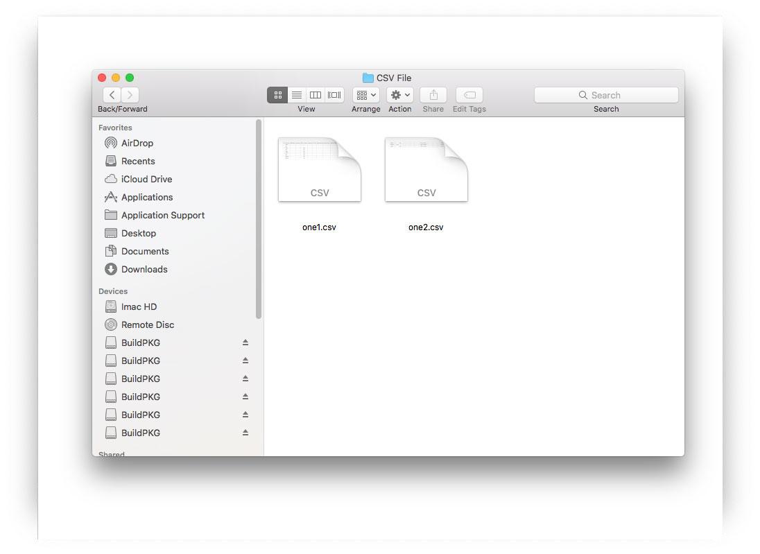 successfully break csv files to keep headers